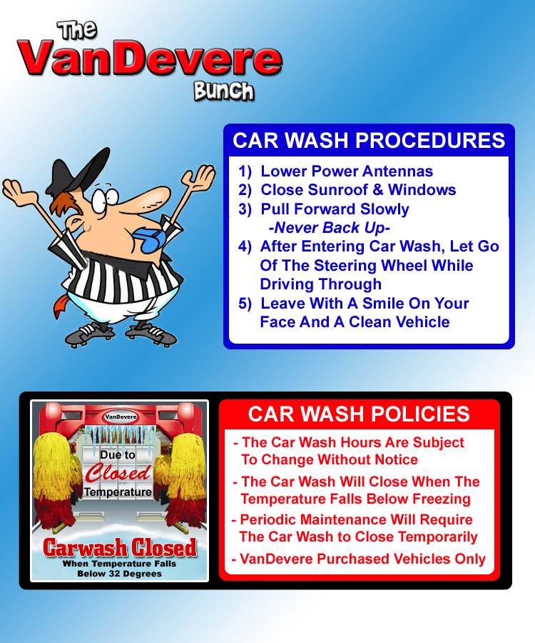 Rules And Policies Isthecarwashopen Com
